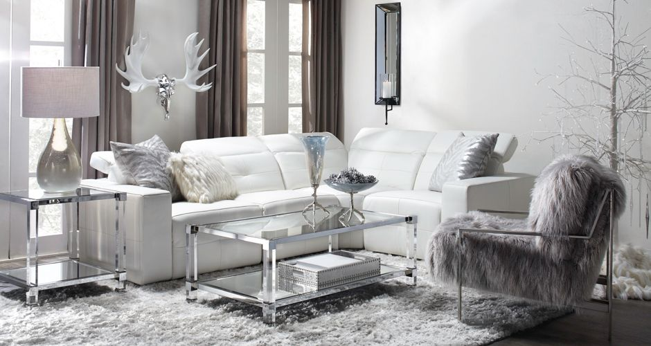 Living Room Inspiration Milan Leather Sofa Sectional Z