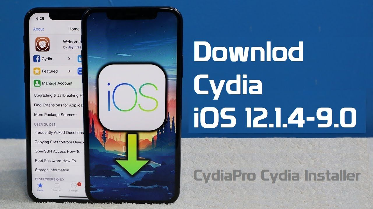 now all those versions are available for download Cydia on