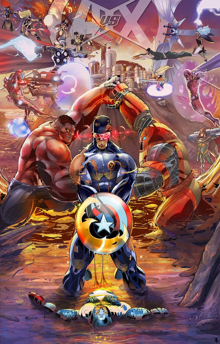 Avengers Vs X Men Your 1 Source For Video Games Consoles Accessories Multicitygames Com Dessins Marvel Dessin Heros