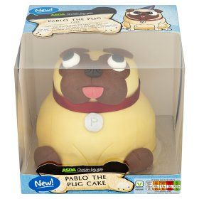 Asda Chosen By You Pablo The Pug Cake Online Food Shopping Pugs