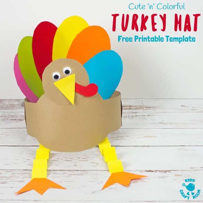 Free Turkey Hat Template