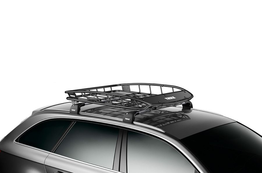 Thule Thule859 Jeep Canyon Roof Rack Cargo Basket Thule859 Roof Basket Cargo Carriers Roof Rack