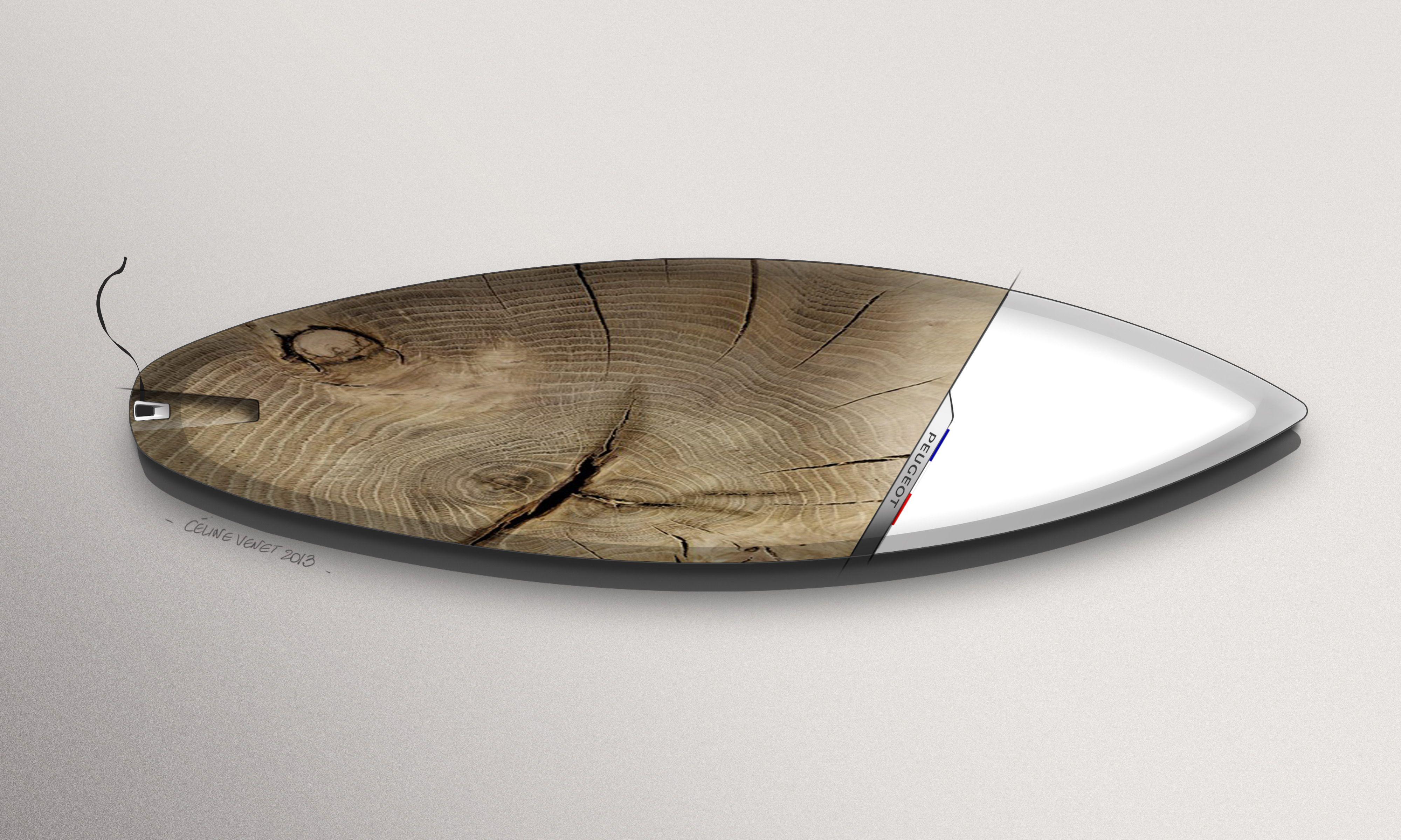 Peugeot Design Lab - GTi Surfboard Concept