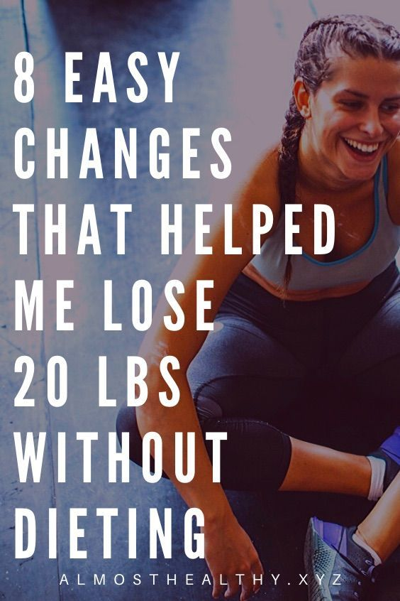 8 simple changes to your daily routine to lose weight for good | easy weight loss tips | easy weight...