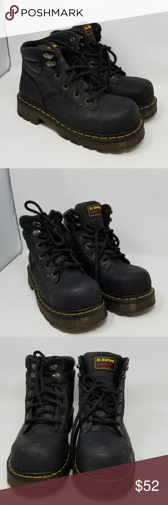 Dr Martens industrial Steel Toe Safety boots Boots