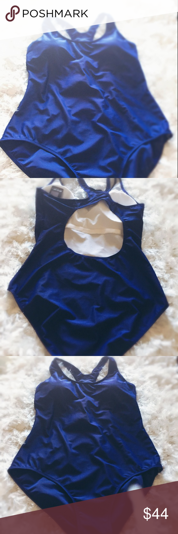 3075f816cd59 Nasty Gal NWT Amelia Blue Swimsuit Plus XXL NWT