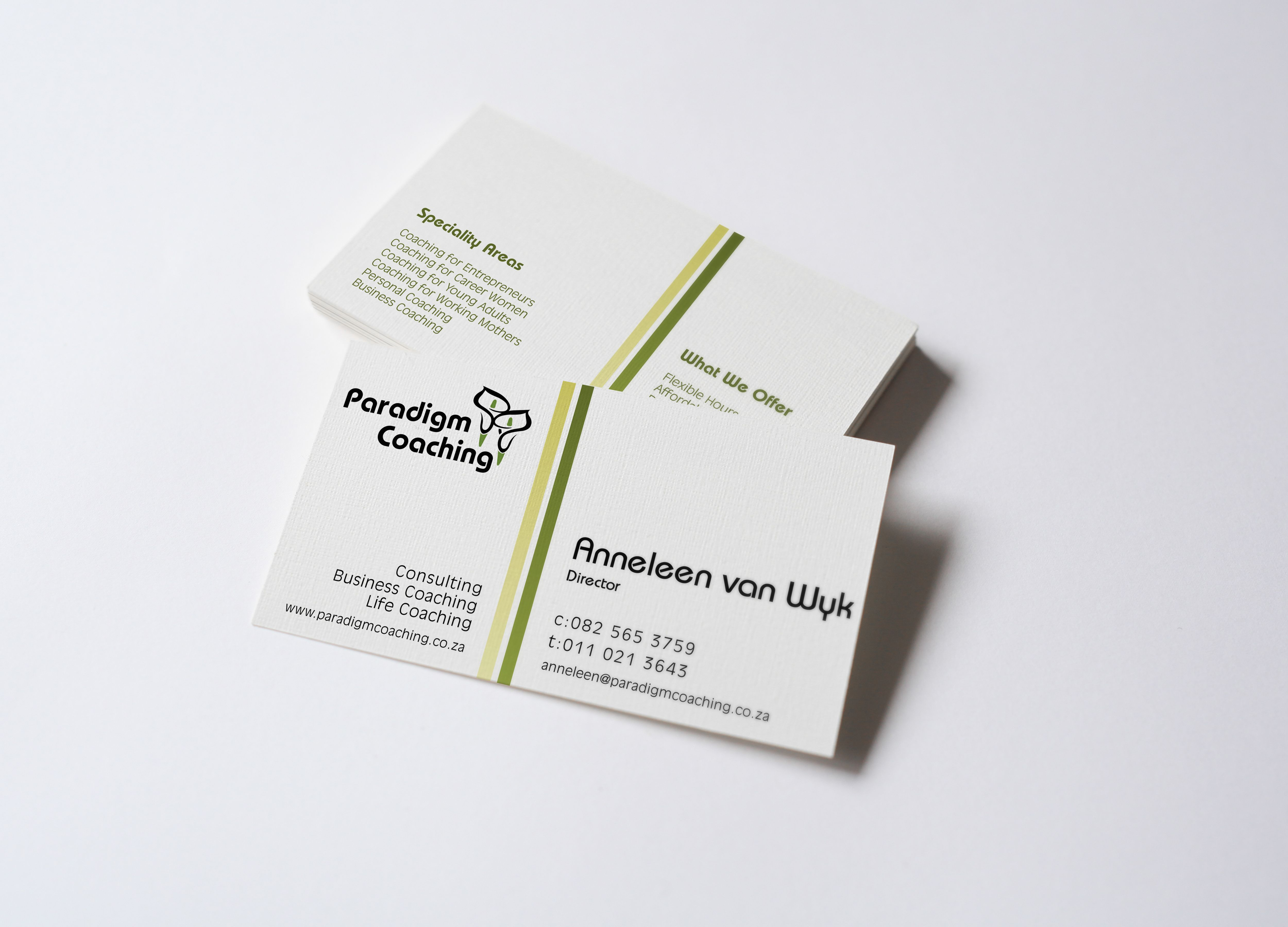 Awesome Coaching Business Cards Photos - Business Card Ideas ...