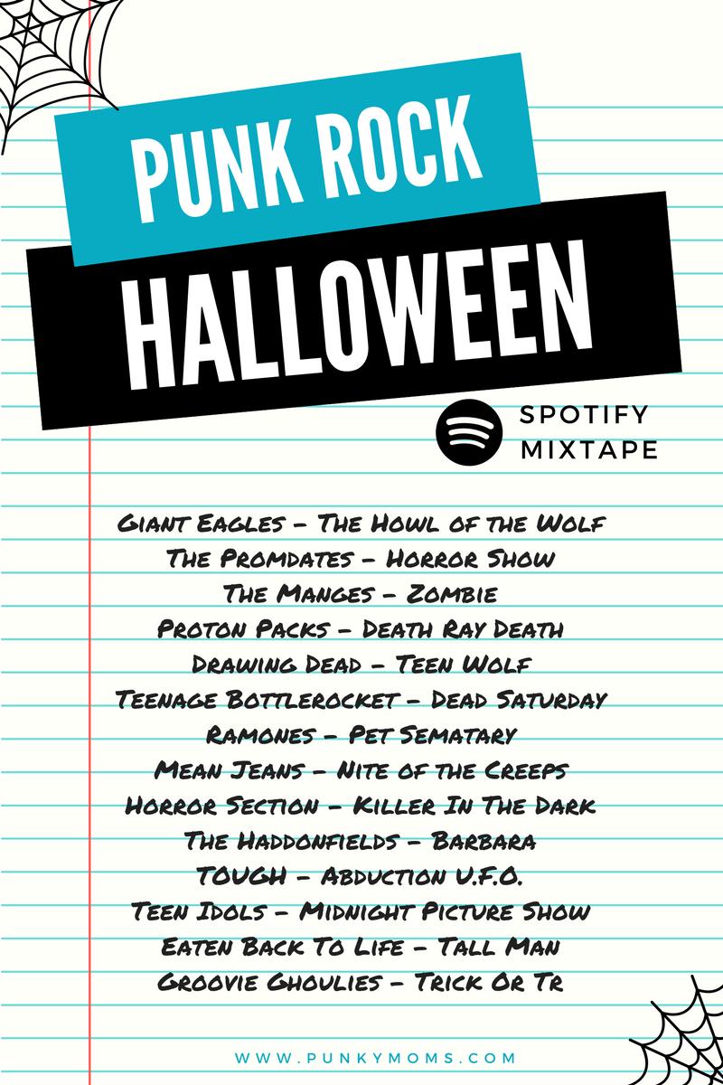 Halloween Playlist 2020 Rock Punk Rock Halloween Spotify Music Playlist   Horror Show in 2020