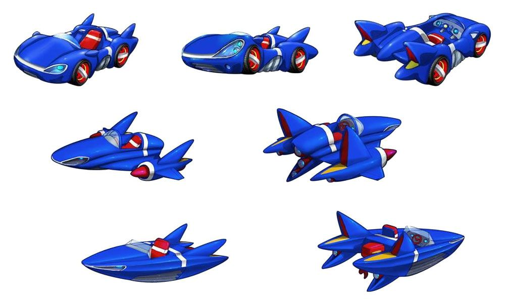 Sonic Vehicle Concepts Characters Art Sonic All Stars Racing Transformed Concept Art Character Design Art