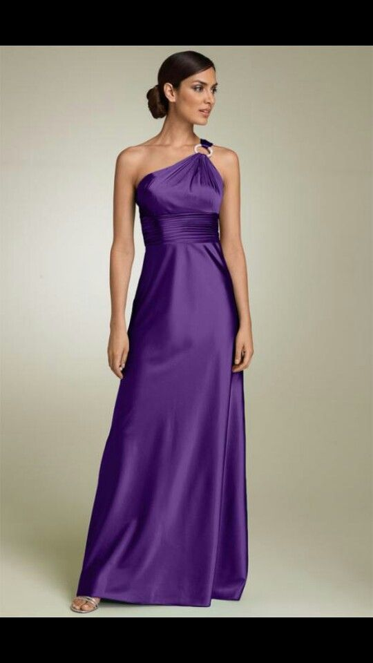 Simple Purple Bridesmaid Dress | Wedding | Pinterest | Colores ...