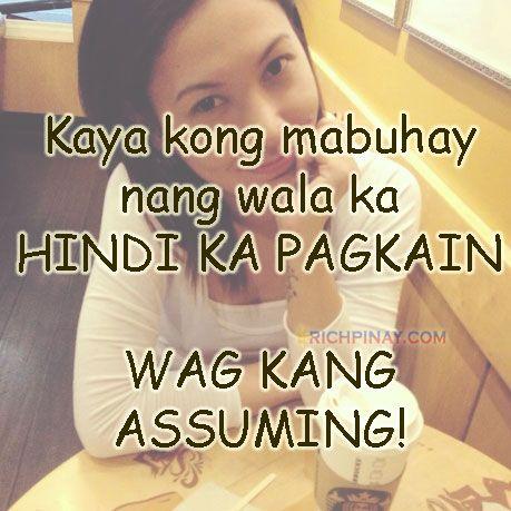 Kaya Kong Mabuhay Nang Wala Ka Hindi Ka Pagkain Wag Kang Assuming Filipino Jokes Filipino Funny Tagalog Jokes Pinoy Humor Pin Filipino Funny Jokes Tagalog