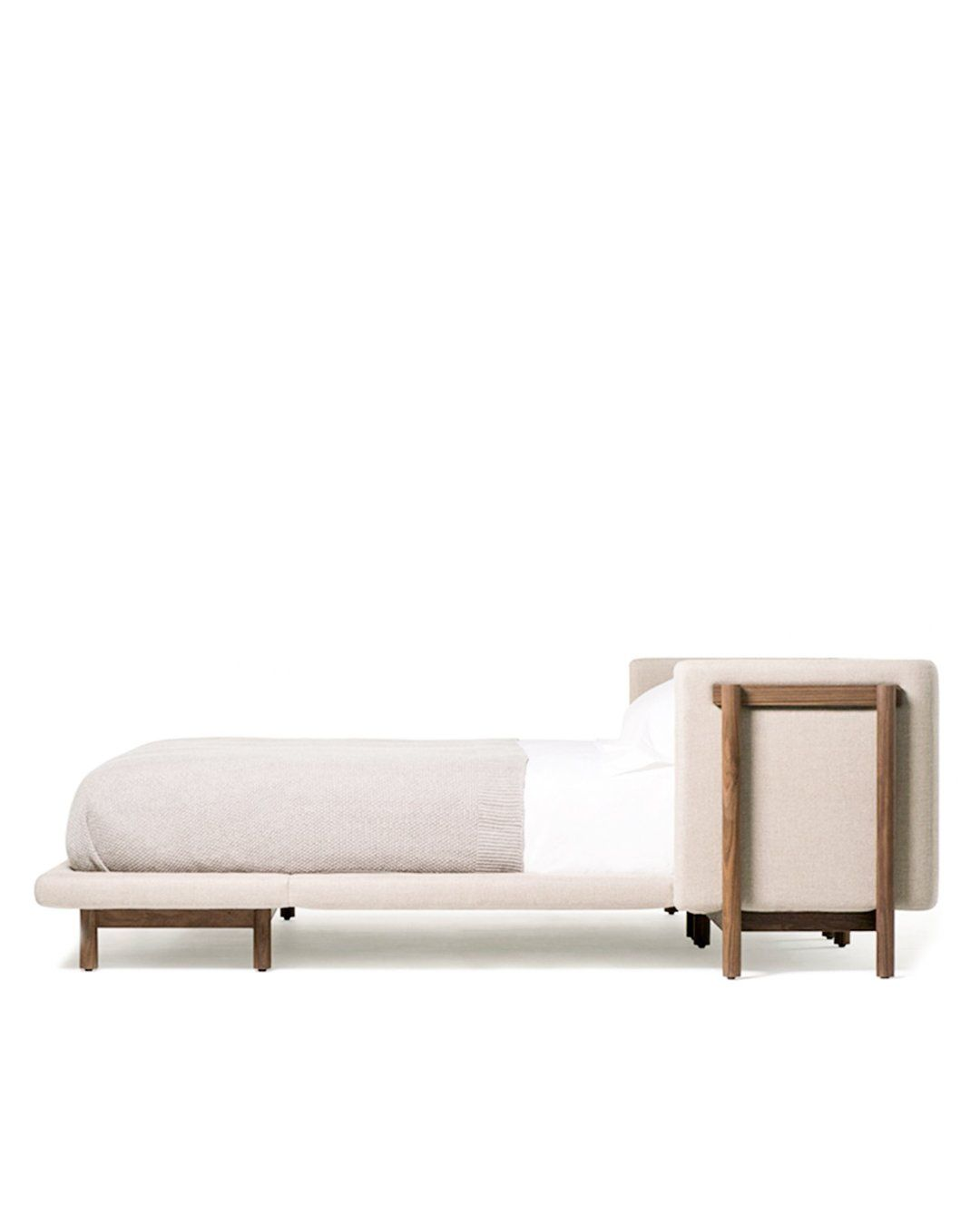 Frame Bed With Arms In 2020 Bed Frame Bed Bed Base
