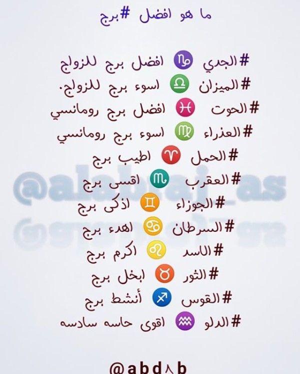Pin By الاشقر On صفات الابراج Funny Arabic Quotes Arabic Funny Quotes From Novels