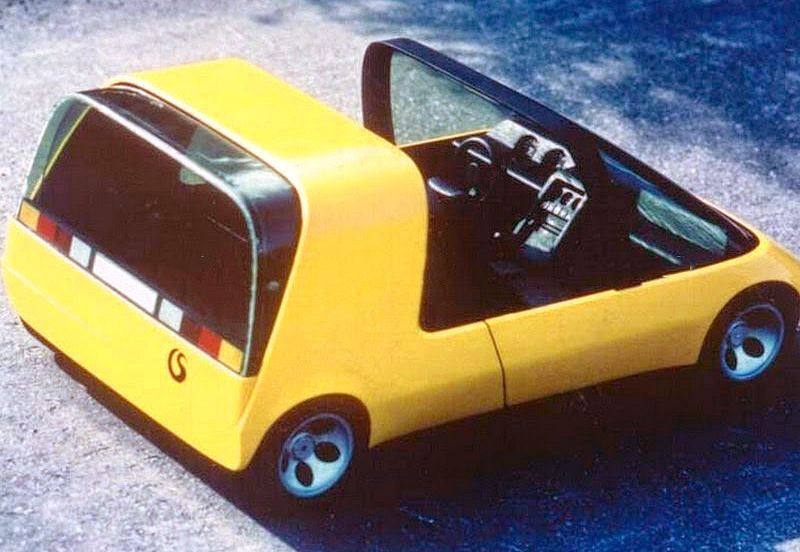 Strosek Vistro 70 1970 A Model For An Electric Car With Sliding Gl Canopy Roof