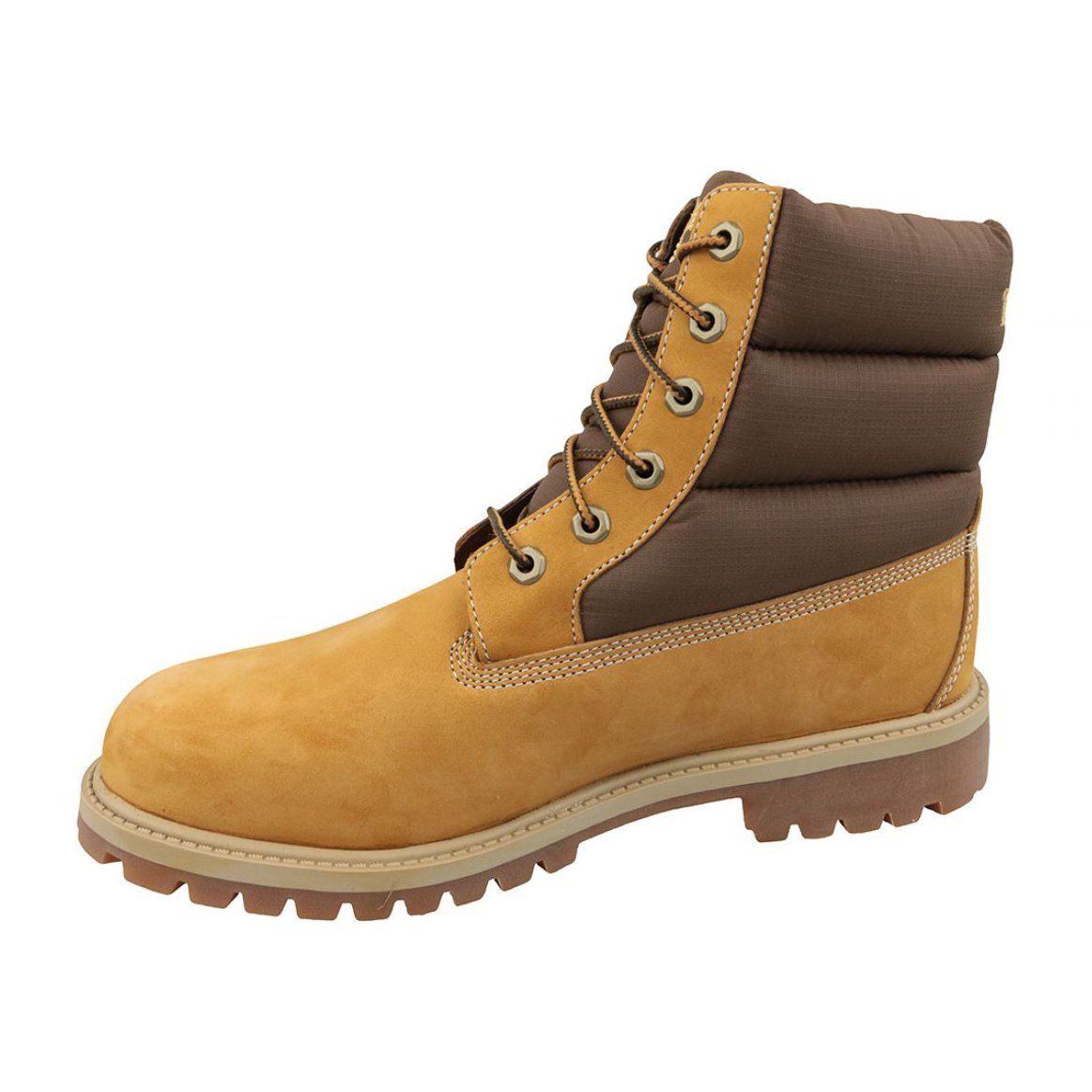 Buty Zimowe Timberland 6 In Quilit Boot Jr C1790r Brazowe Winter Boots Boots Timberland 6