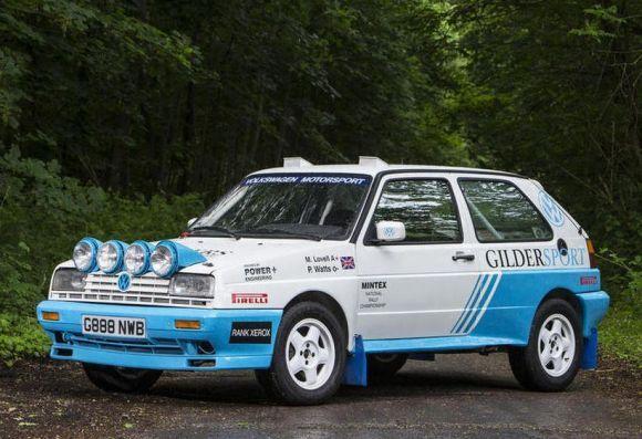 Ex-Works: 1990 Volkswagen Golf G60 Rallye 4×4