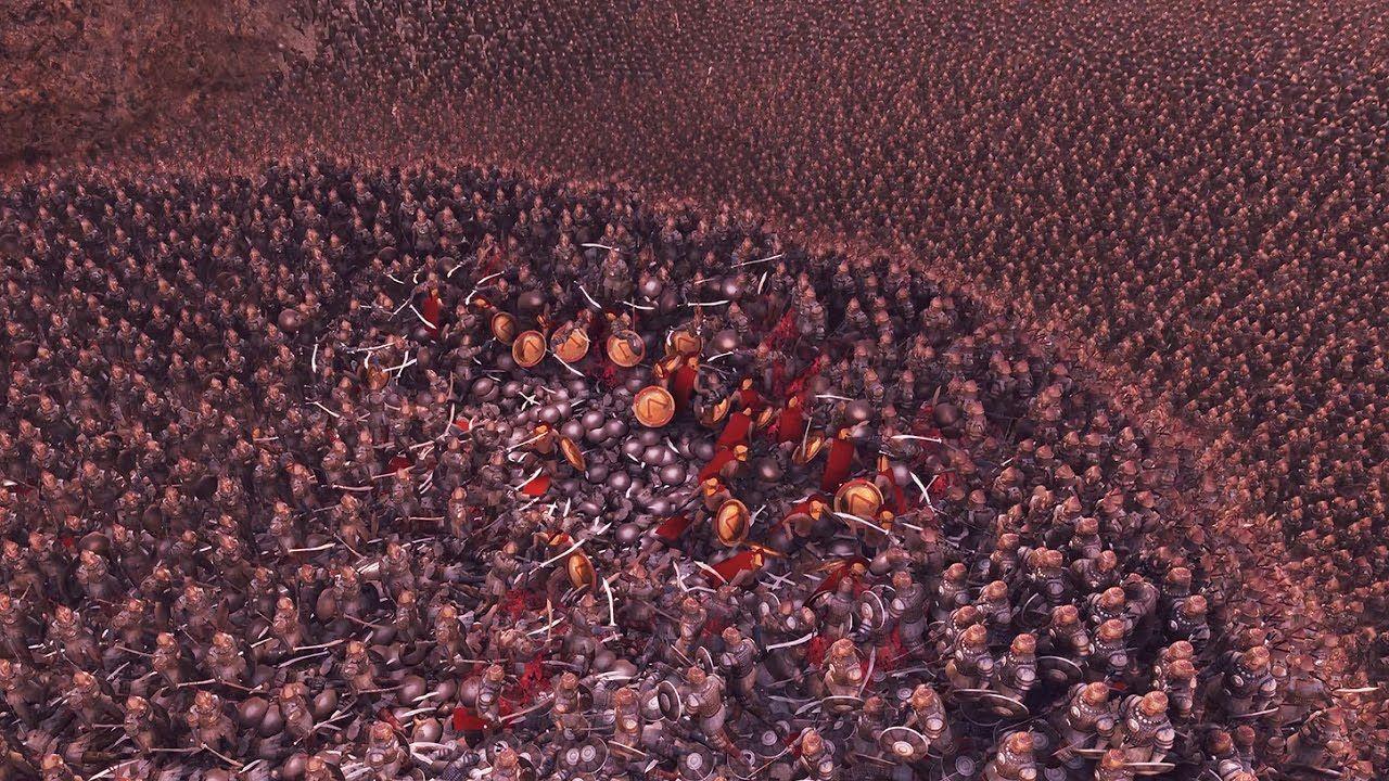 300 Spartans Vs 20000 Persians Ultimate Epic Battle