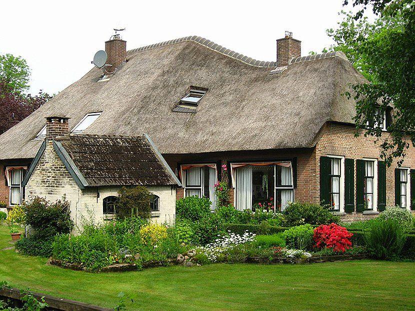 красивые сельские дома фото учетом развития транспорта