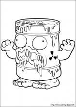 The Trash Pack Coloring Pages On Coloring Book Info Trash Pack