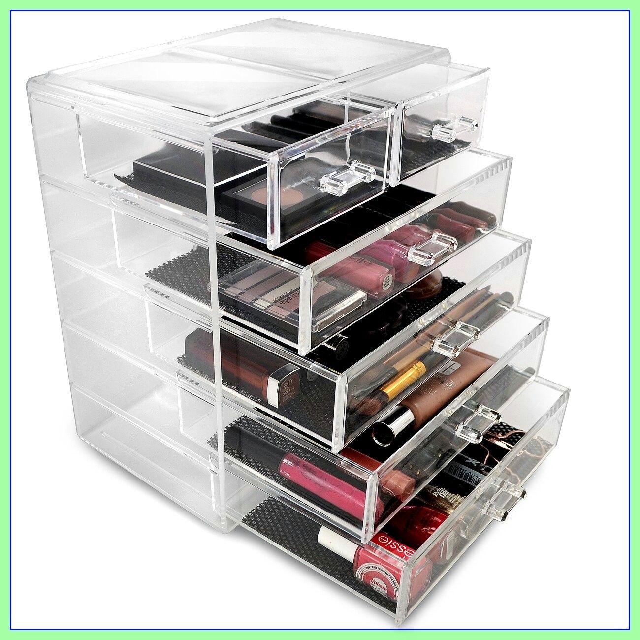 111 Reference Of Drawer Makeup Organizer In 2020 Makeup Jewellery Storage Makeup Storage Display Makeup Storage Case