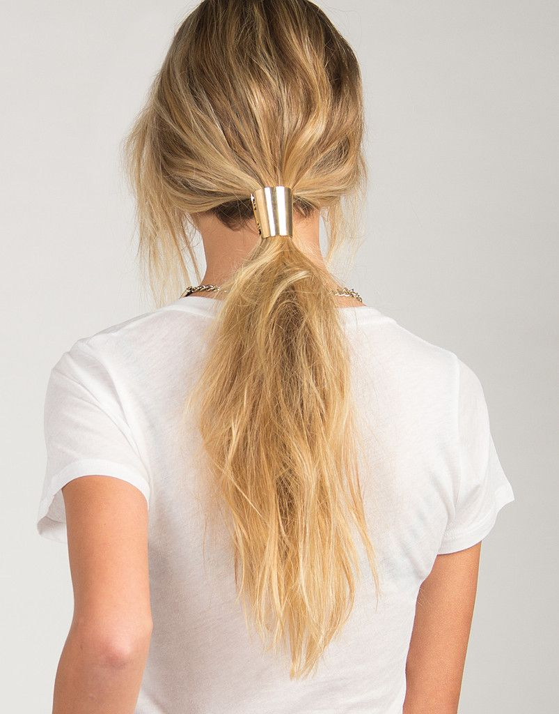 Cone #Ponytail Clasp – #2020AVE