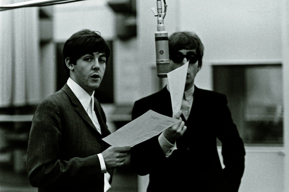 "@hardtosayno | McCartney and John Lennon (pictured) wrote the majority of The Beatles' early songs. ""John and Paul would write the songs at the beginning, then George [Harrison] started, and then I joined in, too late I may add,"" says Starr."
