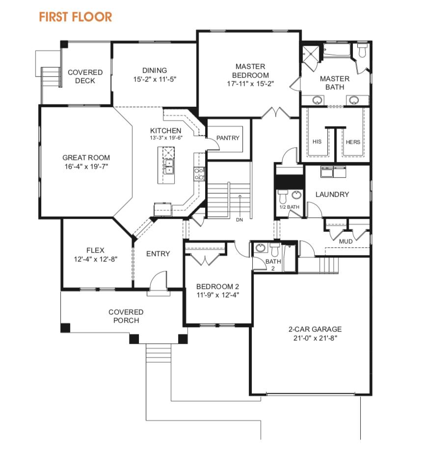 Paisley Utah Rambler Floor Plan Edge Homes Rambler House Plans Floor Plans House Plans