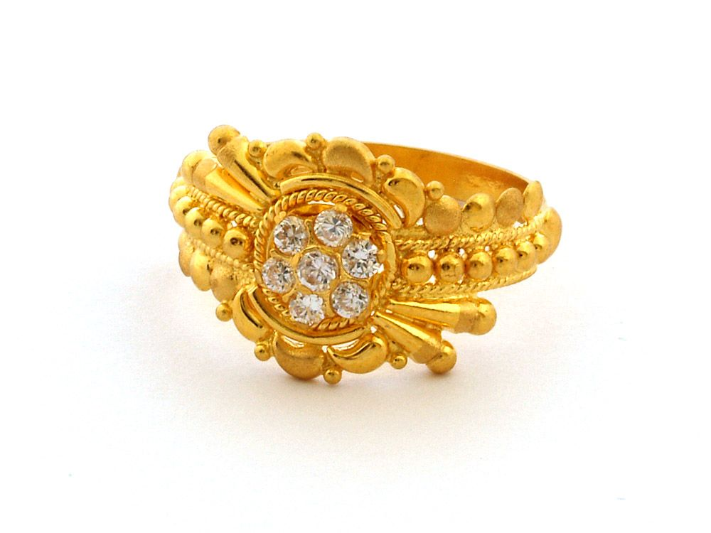 Latest Indian Gold Rings Designs 2014 | Indian Bridal Rings 2014 ...