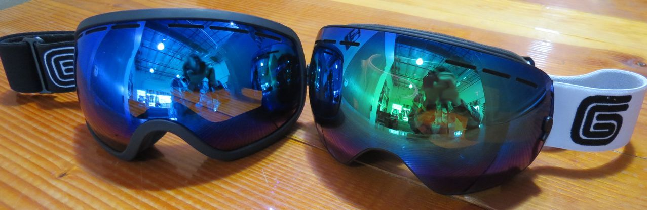 55749cbc39d The all new Grayne Eldorado (Right) and Icefall (Left) lenses. Available