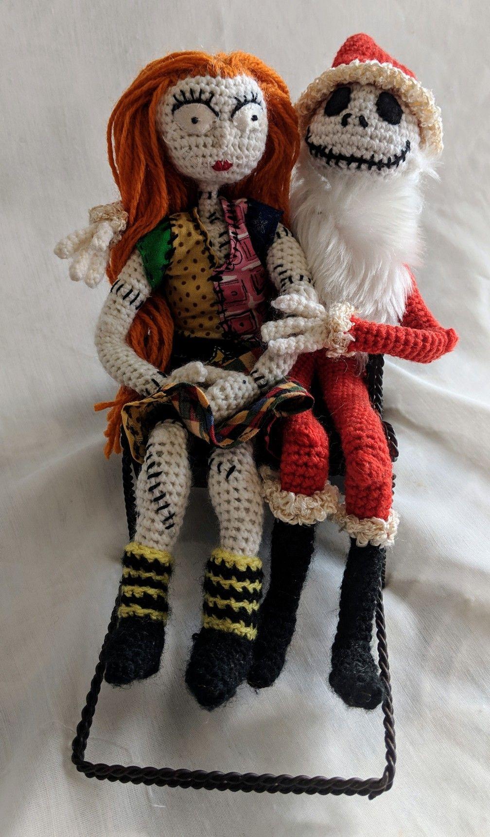 Jack Skellington Plush Nightmare Before Christmas Crochet :: 12 ... | 1721x1008