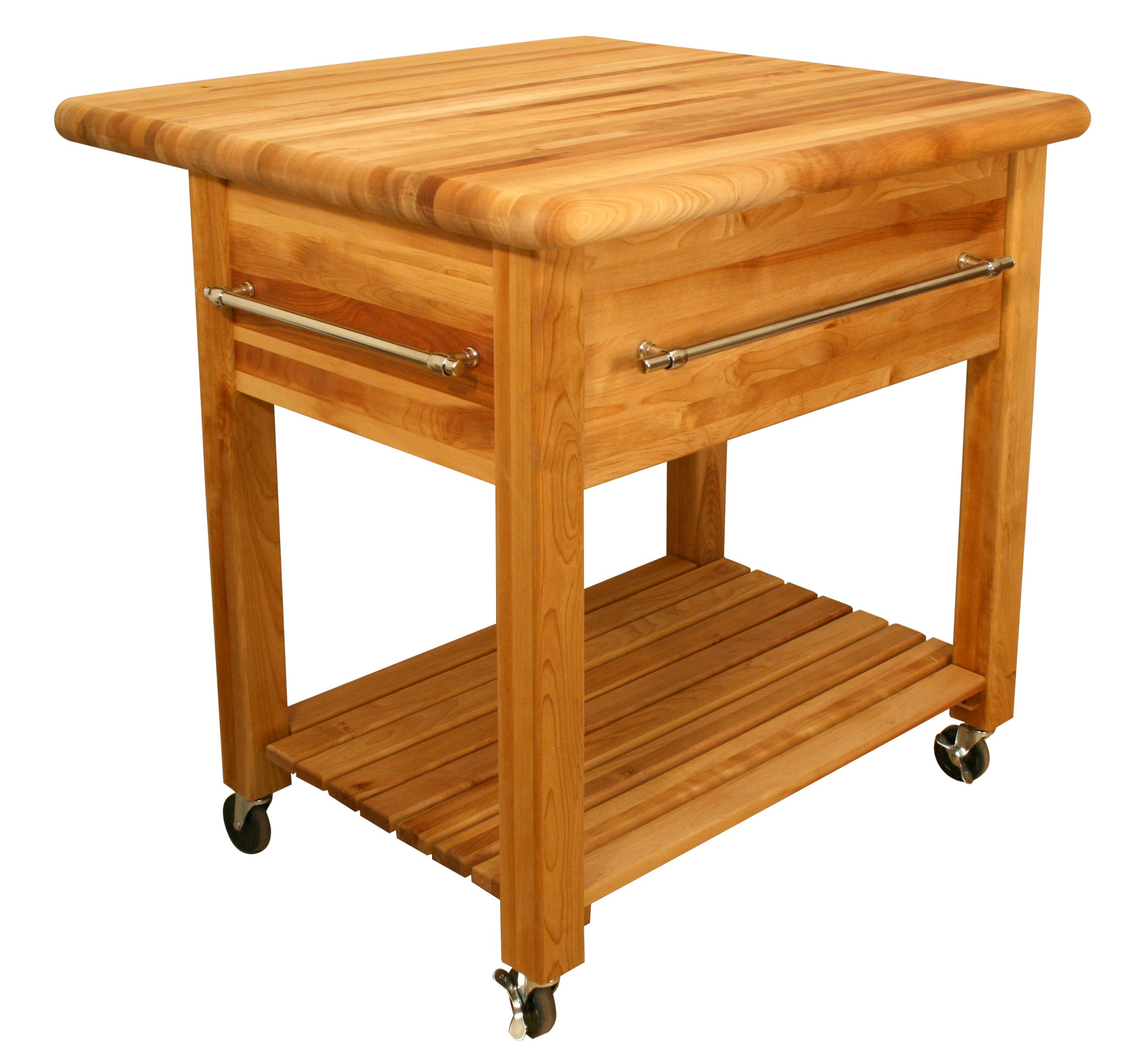 Catskill grand work center 2 butcher block 36 x34 w - Small butcher block island ...