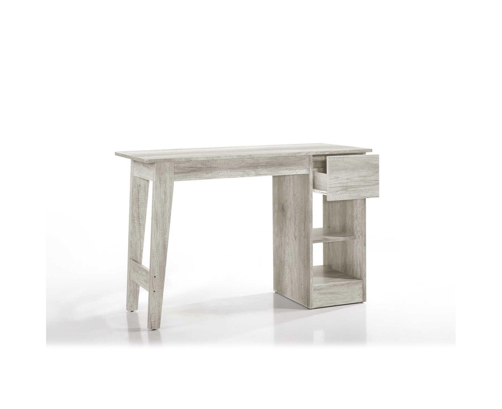 Get Your Meya Computer Desk Study Table Scandinavian White Oak