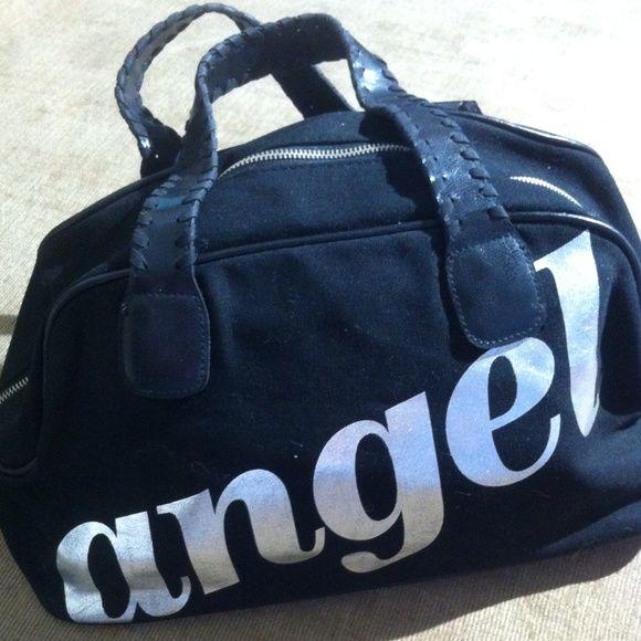 Victoria Secret handbad, med size Victoria Secret med. handbag, in great condition, letters are silver Victoria's Secret Bags Totes