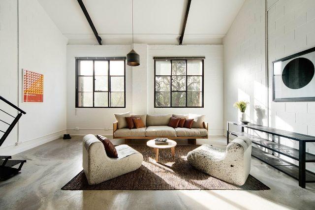 Industrial talks create an industrial living room delightfull interiordesign luxury decoration