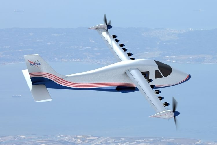 NASA X-57 Maxwell Is An Experimental 14-Propeller All-Electric Plane