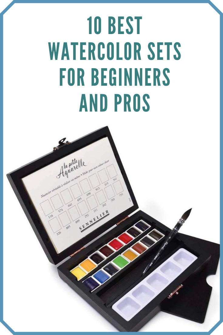 10 Best Watercolor Paint Sets For Beginner & Professional