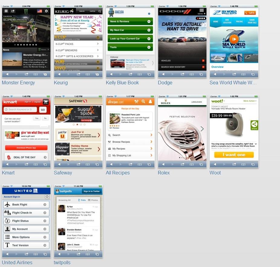 jQuery Mobileで作成されたスマホサイト。サンプル。 | A!@Atsuhiko Takahashi  (via http://attrip.jp/109576/ )