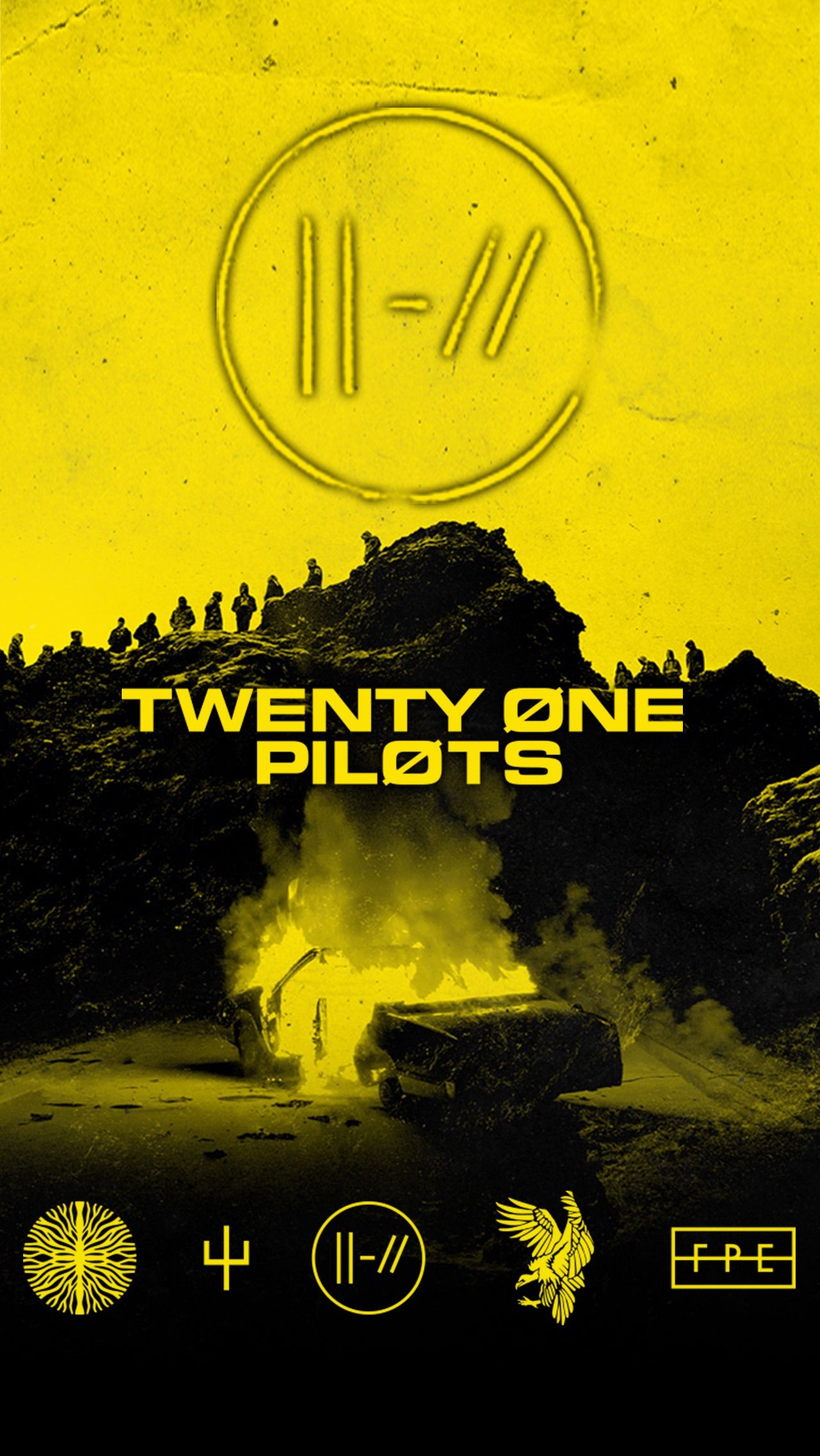Trench iPhone wallpaper Twenty One Pilots Wallpaper, Band Wallpapers, Tyler Joseph, The Twenties