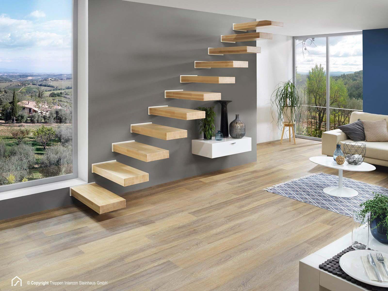 Kragarmtreppe Sydney ab Lager kaufen | Treppen Intercon | Stairs ...