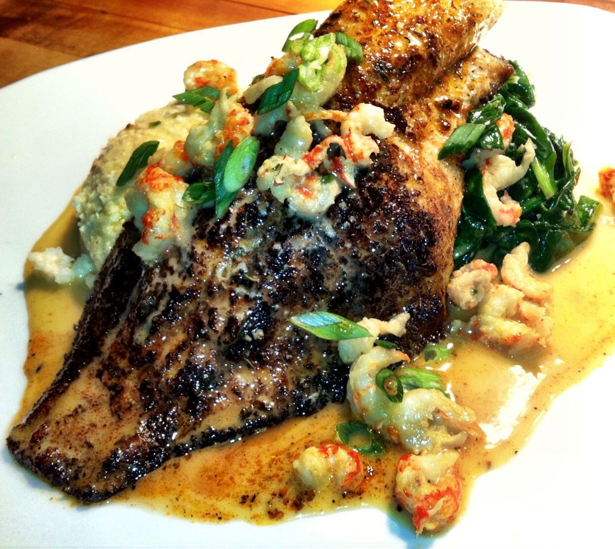 blackened catfish creole sauce