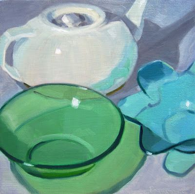 Robin Rosenthal Art: Two Bowls in Front