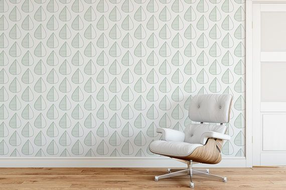 Minimalistic removable wallpaper self adhesive temporary wall paper