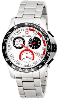 934be091c76 Wenger 70797 Swiss Army Mens Battalion Chronograph Watch Relógio Militar  Wenger Swiss
