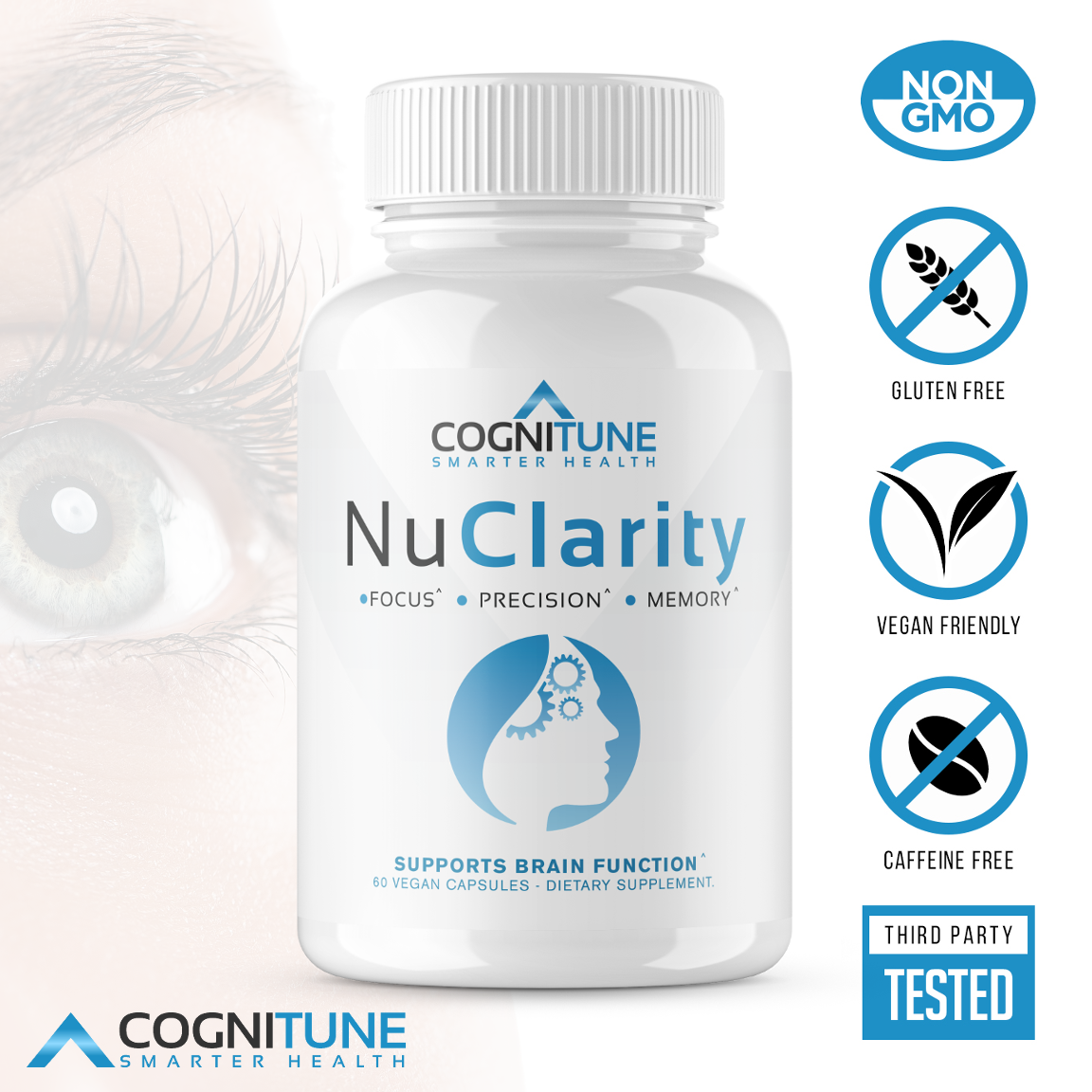 Premium Nootropic Brain Supplement For Mental Health And Cognitive