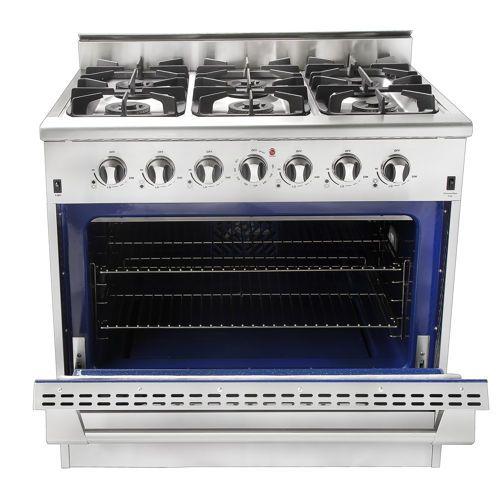 Nxr 36 Stainless Steel Professional Style Gas Range Drgb3602