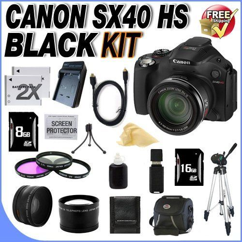 Canon Sx40 Hs 12 1mp Digital Camera With 35x Wide Angle Optical Image Stabilized Zoom And 2 7 Inch Vari Angle Wide L Digital Camera Digital Camer Optical Image