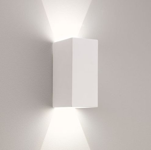 Sleek updown plaster wall light for the home pinterest sleek updown plaster wall light mozeypictures Images