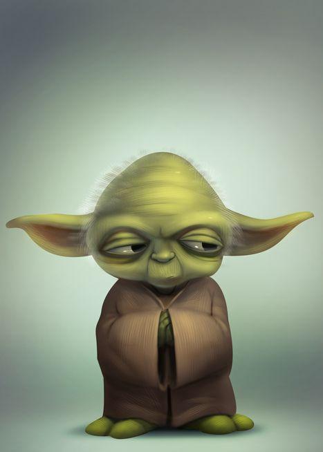 Yoda Yoda Star Wars Ink My Whole Body Up Netflix Karikaturen