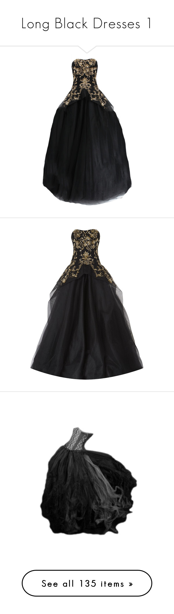 Long black dresses