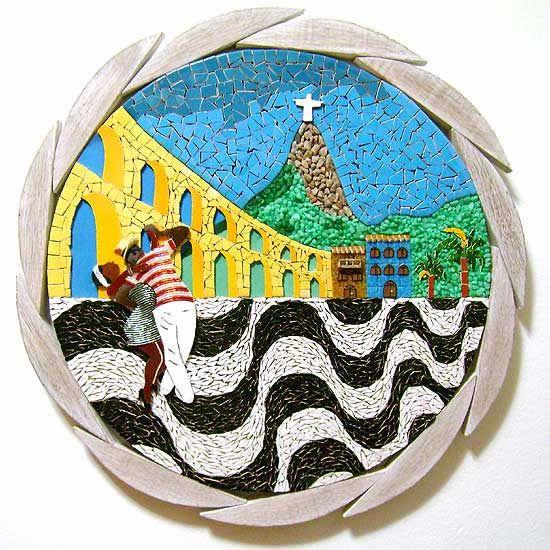 Mosaico de Rosângela Jordão